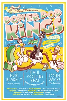 Power Pop Kings tour